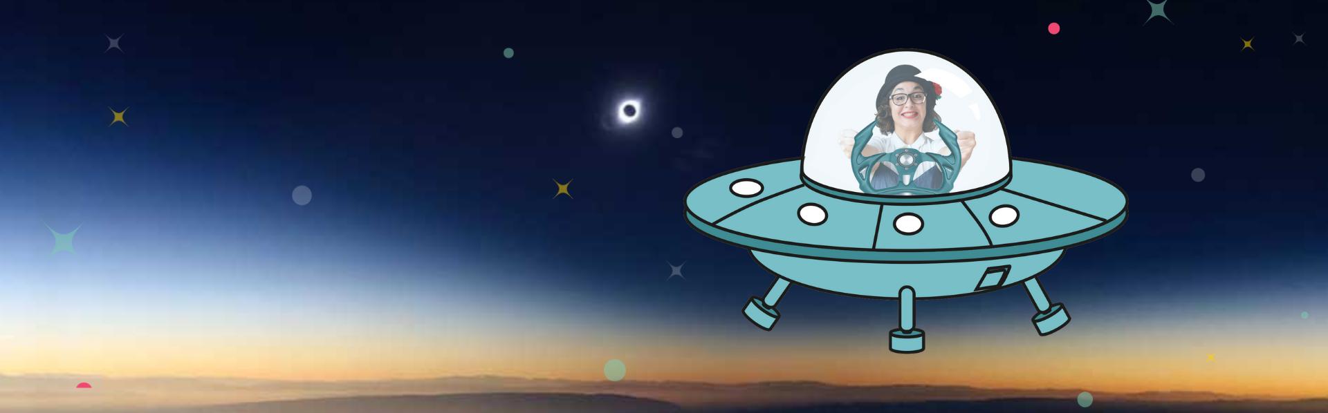 Martita y el eclipse 2020