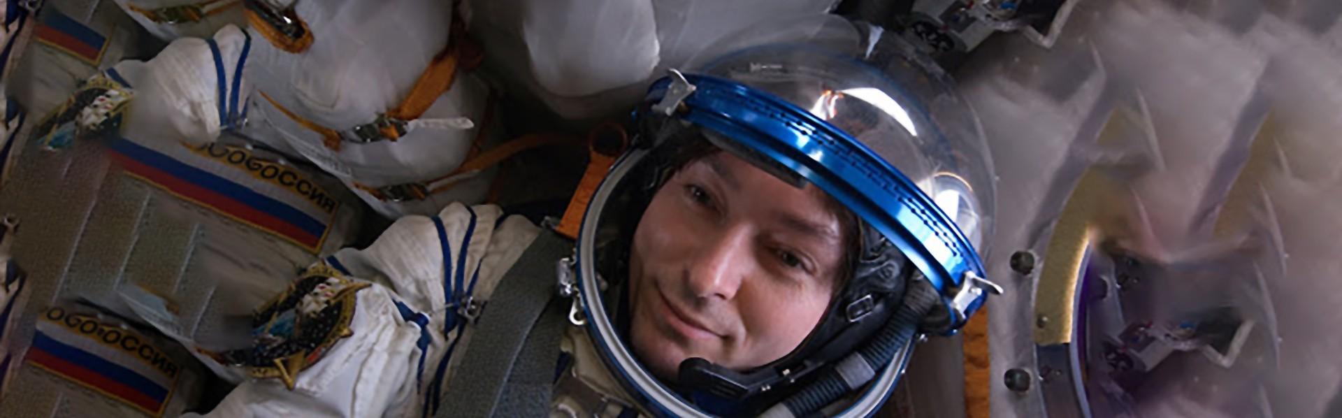 Cosmonauta ruso Sergei Levin