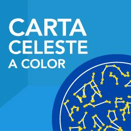 Carta celeste color